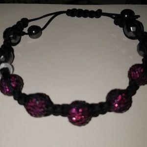 Shambala crystal bracelet